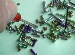 An image showing some of our screw type products